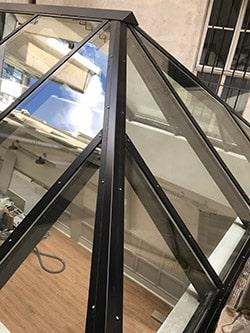 nettoyage toit en verre