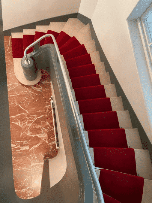 nettoyage escalier copropriété immeuble